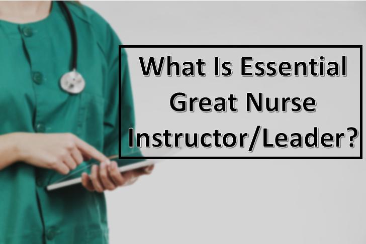 nurse instructor