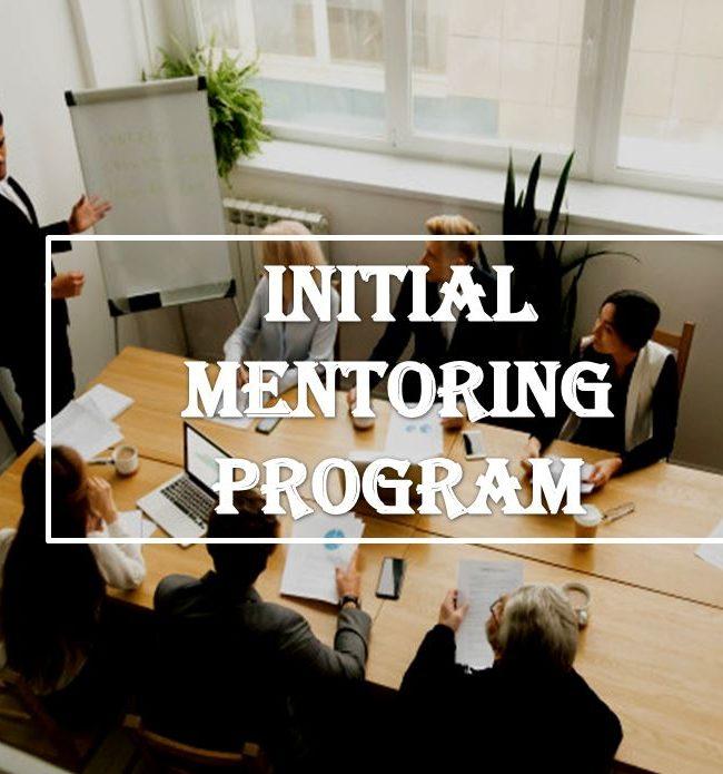 Initial mentoring program